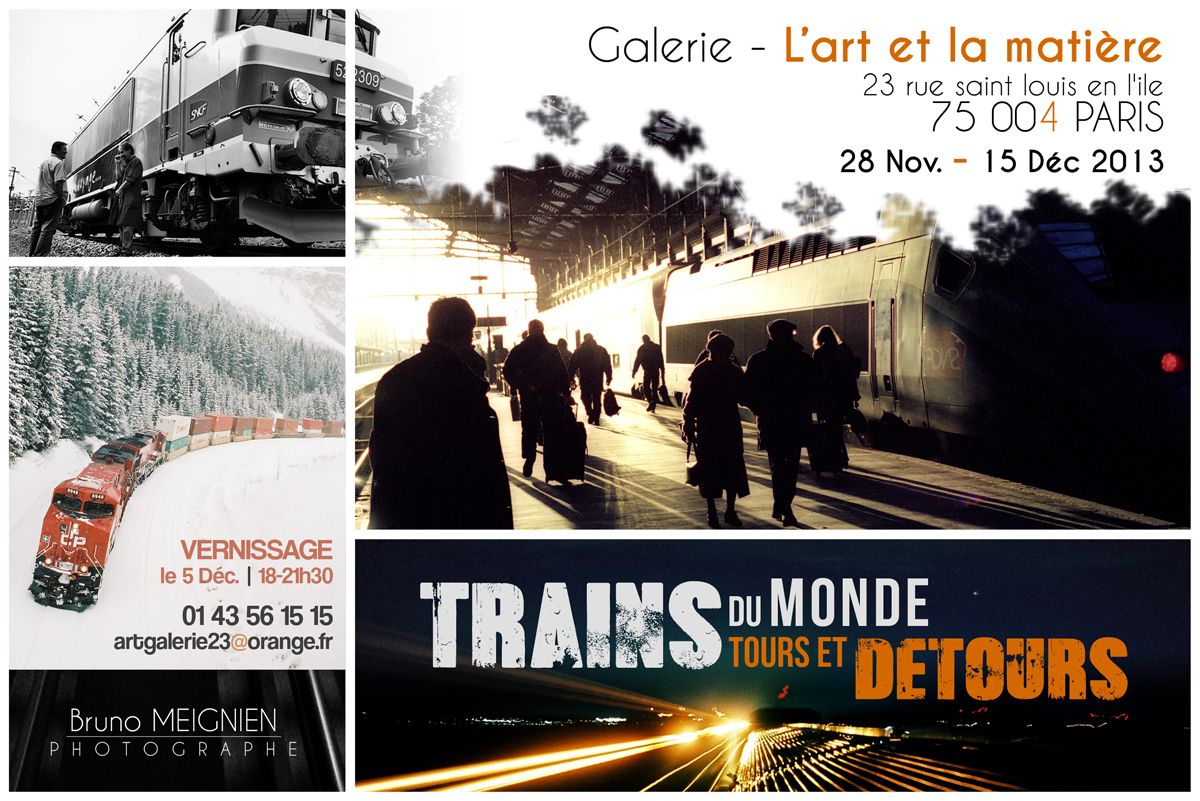 Expo Trains du monde