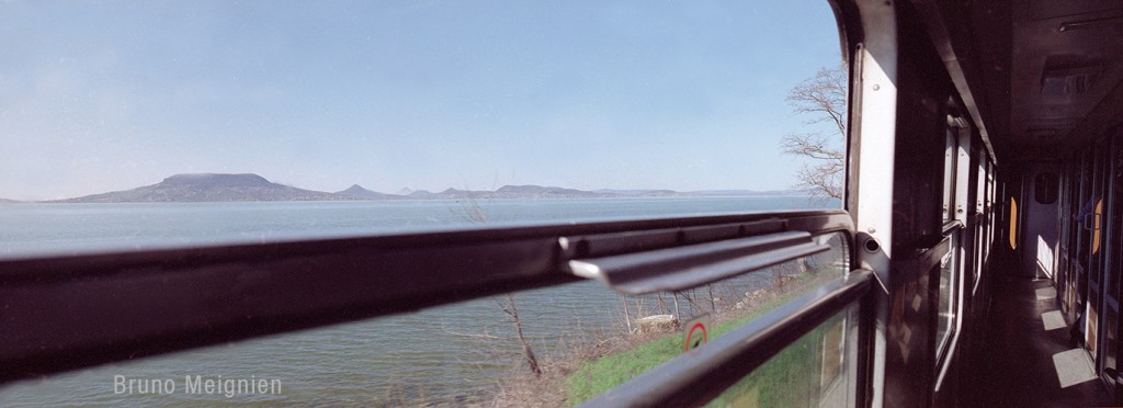 Lac Balaton train