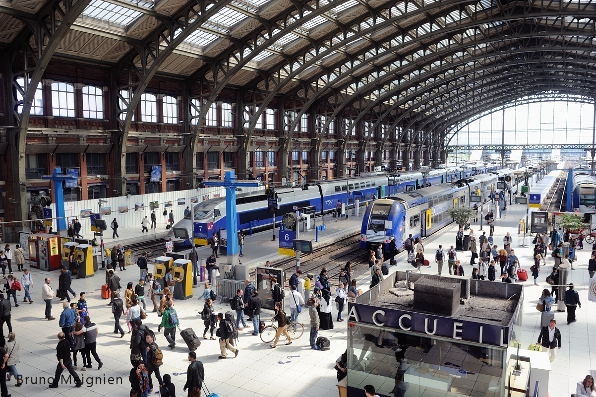 Expo Trains du Monde Lille 2015 - gare